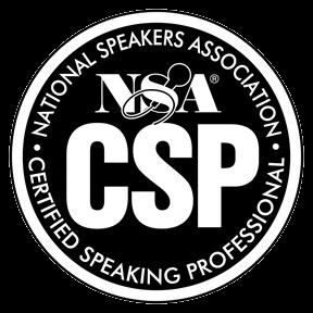 NSA Certified Speaking Sprofessional